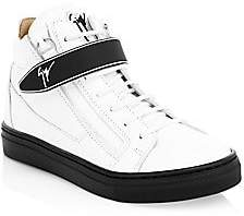 Giuseppe Zanotti Baby's, Little Kid's & Kid's Leather High-Top Sneakers