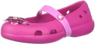 Crocs Girls' Keeley Springtime PS Mary Jane Flat