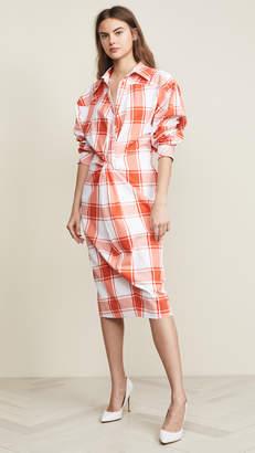 pushBUTTON Gingham Dress