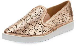 Karl Lagerfeld Paris Cheryl Pointy-Toe Slip-On Sneakers