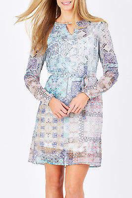 Smash Wear NEW Womens Short Dresses Clematis Dress Rose