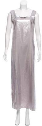 MM6 MAISON MARGIELA MM6 by Maison Martin Margiela Metallic Maxi Dress w/ Tags