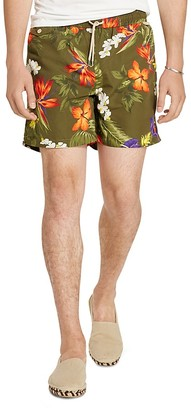 Polo Ralph Lauren Traveler Floral Print Swim Trunks $125 thestylecure.com