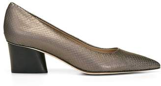 Donald J Pliner GEM, Metallic Snake Print Leather Pump
