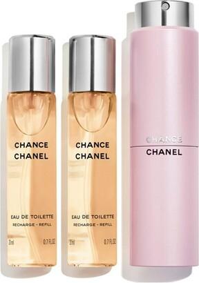9e1e3b4420a Chanel Eau De Toilette Twist And Spray 3x20ml