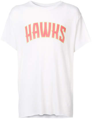 The Elder Statesman X Nba Hawks T-shirt
