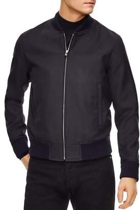 Sandro Teddy Wool Zip Jacket