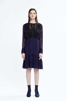3.1 Phillip Lim Paneled Drop-Waist Dress