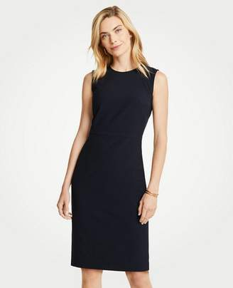 Ann Taylor Petite Seasonless Stretch Sleeveless Sheath Dress