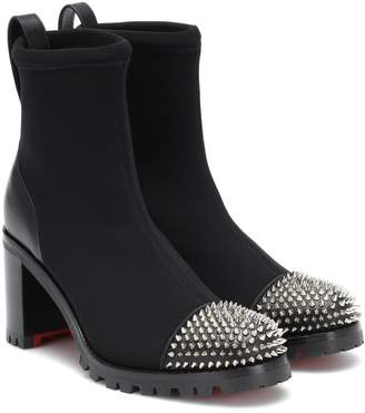Christian Louboutin Washy neoprene ankle boots