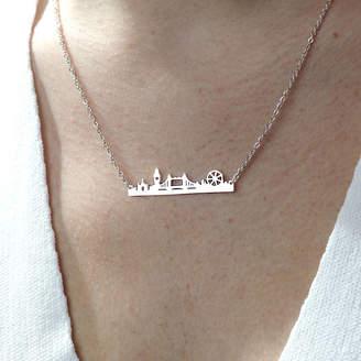 Junk Jewels London Skyline Necklace
