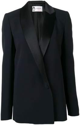 Lanvin shawl lapel fitted jacket