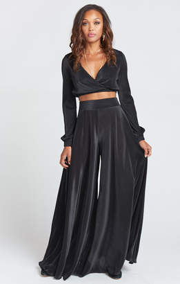 Show Me Your Mumu Dance Pant ~ Black Pleat