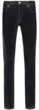 HUGO Skinny-fit jeans in velvet super-stretch denim