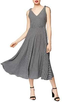 Betsey Johnson Striped Midi Dress