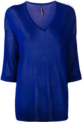 Pierantonio Gaspari Pierantoniogaspari sheer knitted top