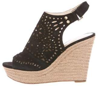 Marc Fisher Suede Wedge Sandals