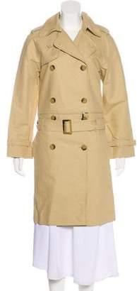 Barbara Bui Double-Breasted Knee-Length Coat