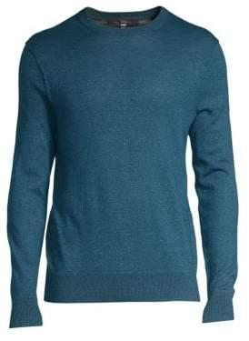 Rag & Bone Dean Merino Wool & Linen Blend Sweater