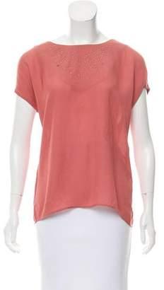 Comptoir des Cotonniers Embellished Oversize Top