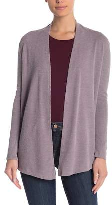 Boulevard Lightweight Ribbed Open Front Cardigan