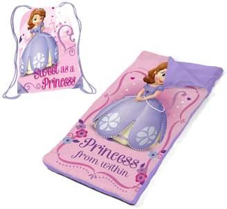 Disney Sofia the First Sleeping Bag & Sackpack Slumber Set