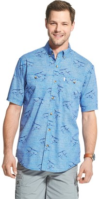 G.H. Bass Men's Bluewater Bay Patterned Button-Down Shirt