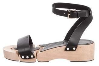Chanel 2016 Embellished Ankle Strap Sandals