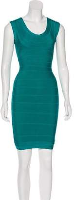 Herve Leger Sleeveless Bandage Tunic