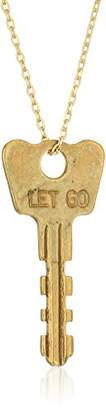 The Giving Keys Dainty XL Necklace LET GO