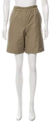 Hache High-Rise Knee-Length Shorts w/ Tags