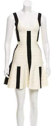 Herve Leger Avery Bandage Dress