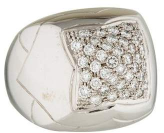 Bvlgari 18K Diamond Piramide Ring