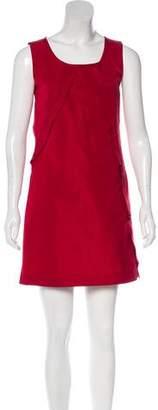 Miu Miu Sleeveless Mini Shift Dress