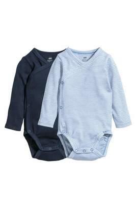 H&M Long-sleeved Bodysuits