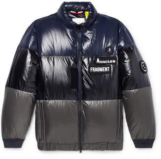 1d0b4ac1f73e Moncler Genius 7 Fragment Wondar Colour-Block Quilted Shell Down Jacket