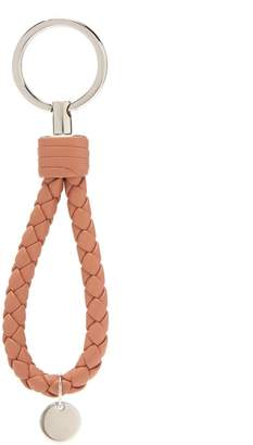 Bottega Veneta Intrecciato leather knot key ring