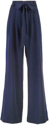 Milly belted palazzo trousers