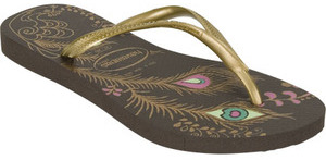 HAVAIANAS Slim Peacock Womens Sandals