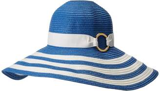 Lauren Ralph Lauren Packable Signature Grosgrain Sun Hat Caps