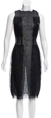 Rodarte Sleeveless Lace Dress