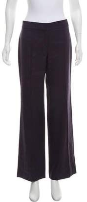 Philosophy di Alberta Ferretti Mid-Rise Wool Pants