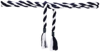 Pinko woven rope belt