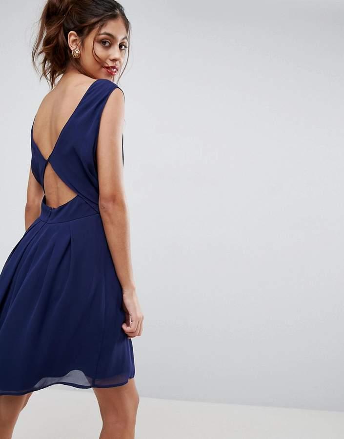 AsosASOS Cut Out Back Mini Dress
