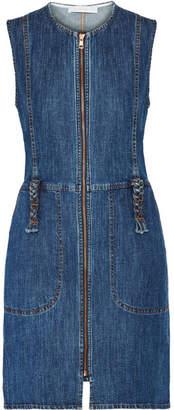 See by Chloe Denim Mini Dress - Mid denim