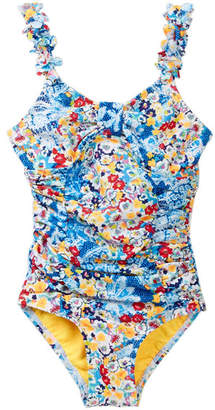 Hula Star Heavy Petal One-Piece Swimsuit (Toddler & Little Girls)