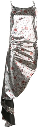 Marques Almeida Marques'Almeida floral print asymmetric dress