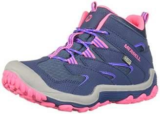 Merrell Girls' Chameleon 7 Mid WTRPF Hiking Shoe 13 Medium US Little Kid