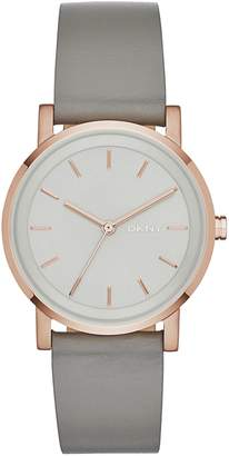 DKNY Ladies' Soho NY2341 Grey Strap Watch