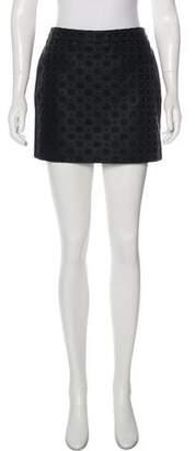 Stella McCartney Jacquard Mini Skirt